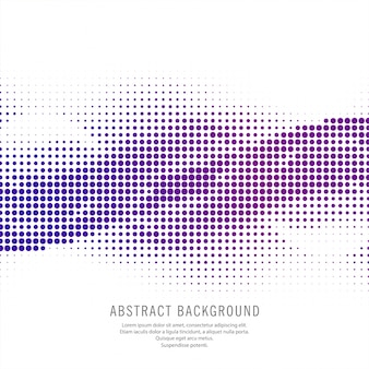 Arrière-plan de demi-teinte coloré pointillé de vague moderne