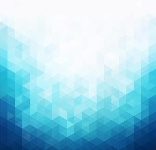Arrière-plan du modèle de lumière bleue abstraite