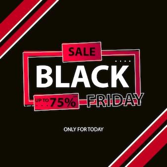 arrière-plan du modèle de vente discount vendredi noir