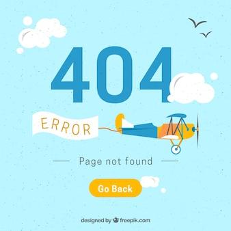 Arrière-plan d'erreur creative 404