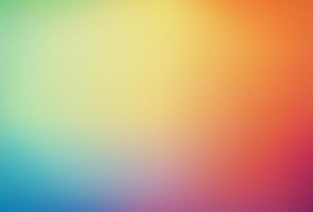 Arrière-plan flou abstrait arc-en-ciel lisse