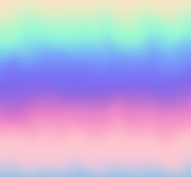 Arrière-plan flou abstrait de vecteur arc-en-ciel.