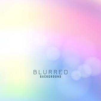 Arrière-plan flou coloré abstrait