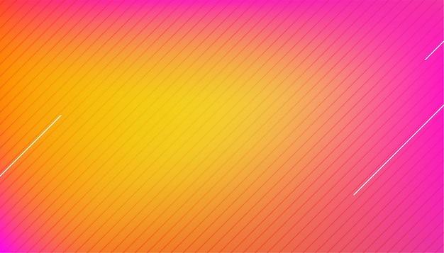 Arrière-plan flou coloré avec des lignes diagonales