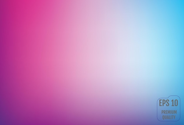 Arrière-plan flou de filet de dégradé dans des couleurs vives