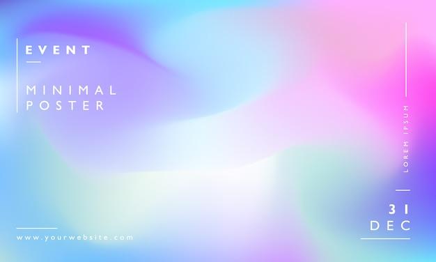 Arrière-plan flou moderne coloré