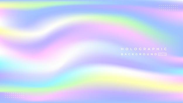 Arrière-plan holographique flou abstrait