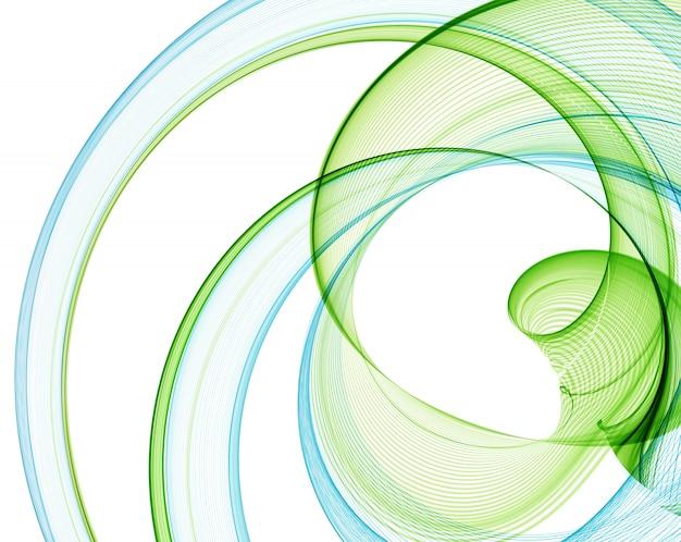 Arrière-plan de lignes abstraites de couleur