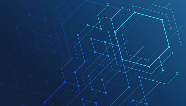 Arrière-plan de lignes géométriques abstraites.