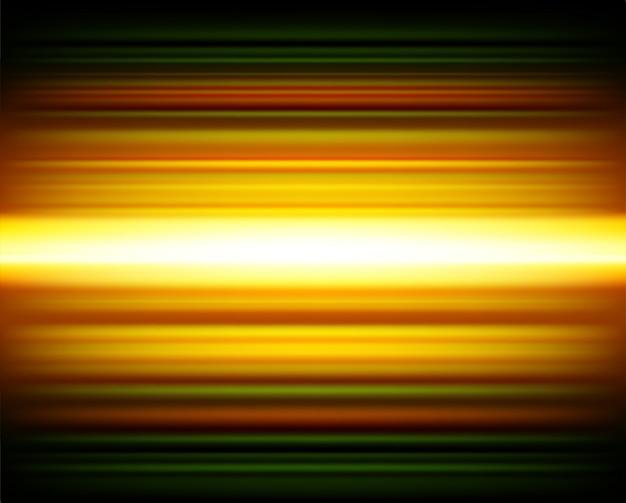 Arrière-plan de lignes lumineuses abstraites vitesse mouvement coloré