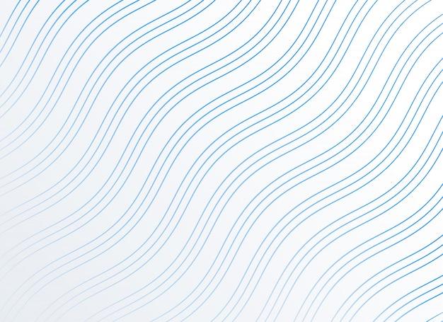 Arrière-plan de lignes ondulées lisses diagonales