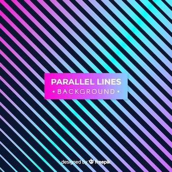 Arrière-plan de lignes parallèles
