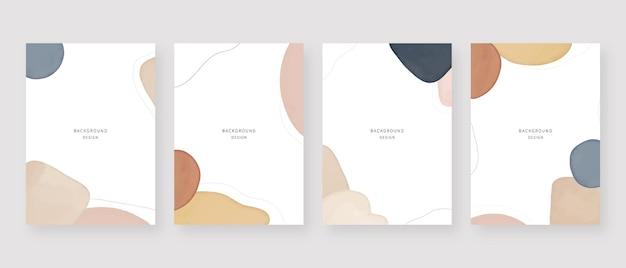Arrière-plan minimal. arrière-plans abstraits de memphis