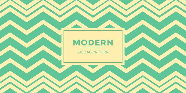 Arrière-plan de modèle de zigzag moderne