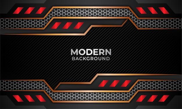 Arrière-plan moderne adapté aux jeux en ligne