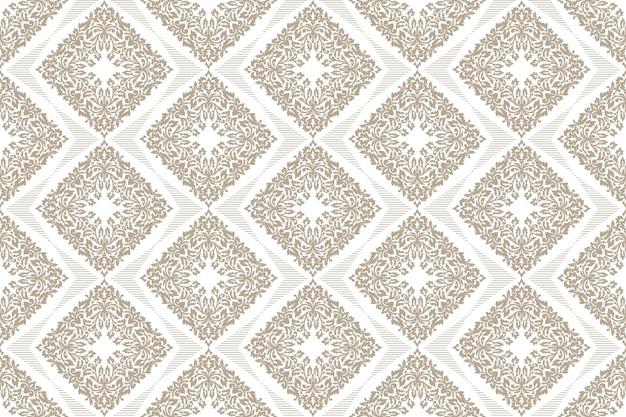 Arrière-plan de motif géométrique de style zentangle
