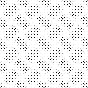 Arrière-plan De Motif De Points Géométriques - Dessin Abstrait Vecteur Premium