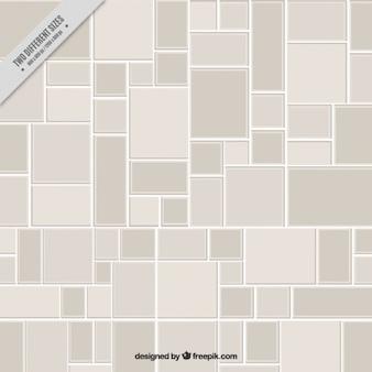 Arrière-plan avec sol gris carrelé