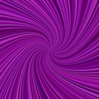 Arrière-plan en spirale abstraite - conception graphique vectorielle à partir de rayons tourbillonnants