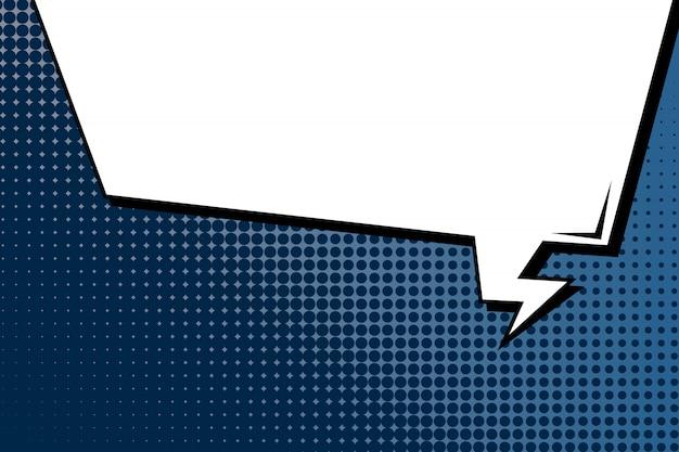 Arrière-plan de style bande dessinée pop art.