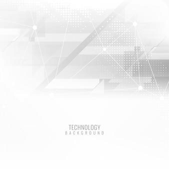 Arrière-plan technologique futuriste