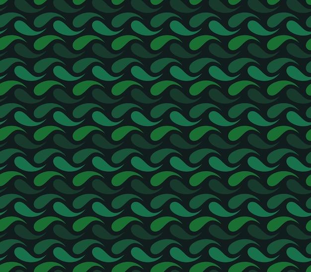 Arrière-plan transparent de vecteur composé de gouttes colorées. ornement répétitif pour divers arrière-plans