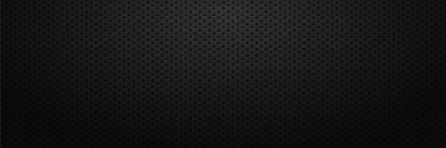 Arrière-plan de trous d'entrelacs de gamme surface d'ornement techno avec noir rond