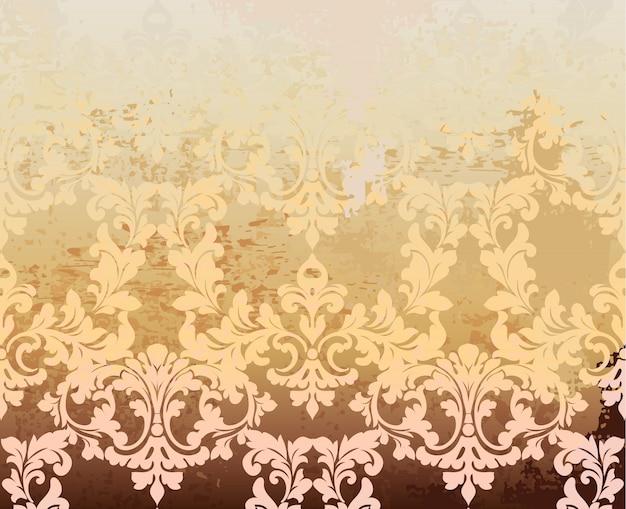Arrière-plan vintage baroque
