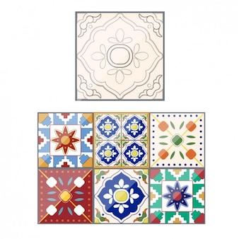 Arrière-plans décoratifs et abstraits