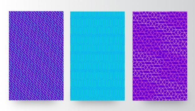 Arrière-plans de motifs abstraits