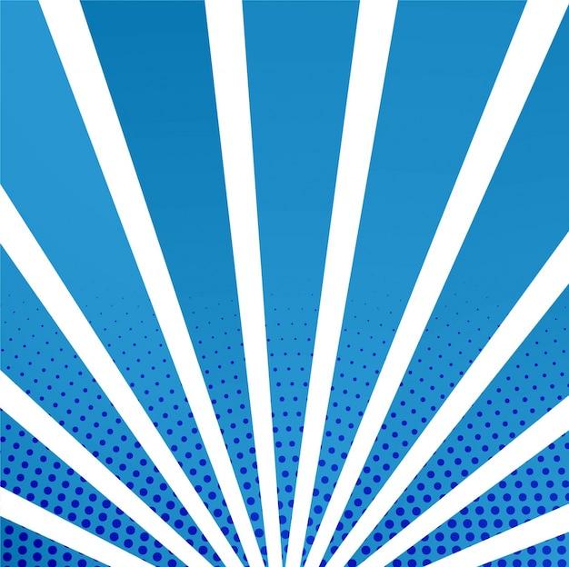 Arrière-plans des rayons bleus modernes