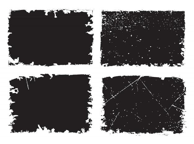 Arrière-plans texturés grunge