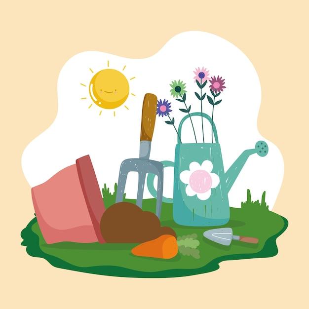Arrosage jardin et terre