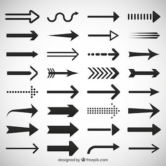 Arrows icons set