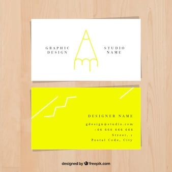 Art créatif carte studio