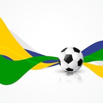 Art football dessin abstrait