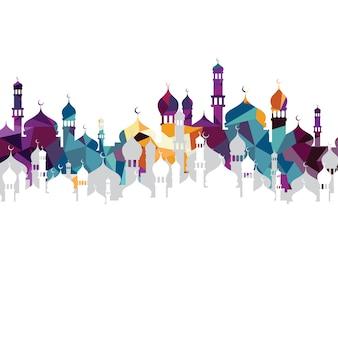 Art de la mosquée islamique arabe