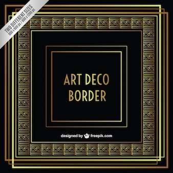 Art ornemental déco frontière
