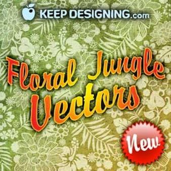 Art vecteur libre   graphiques clip art vecteurs   floral jungle végétales