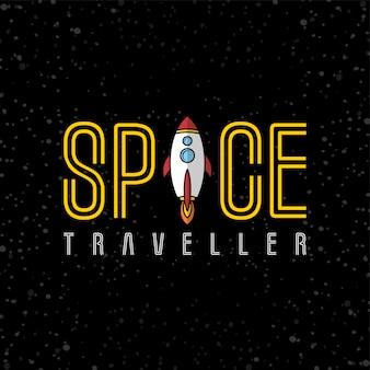Art vectoriel navette spatiale fusée