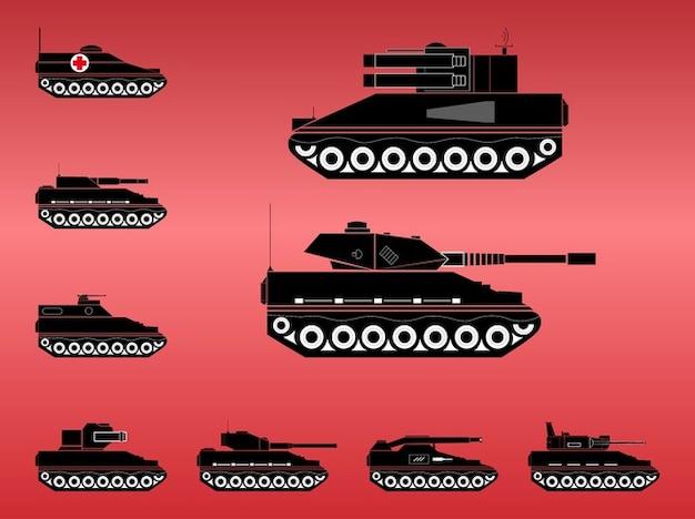 Artillerie vecteur de mitrailleuse