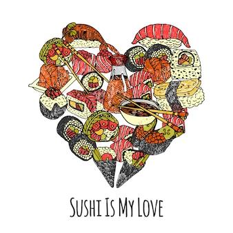 Asie food heart