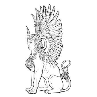 Assis sphinx.