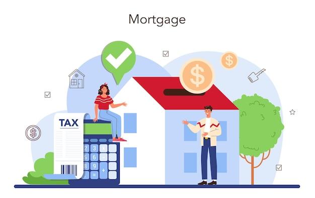 Assistance et aide aux agents immobiliers pour le secteur de l'immobilier ou le concept d'agent immobilier