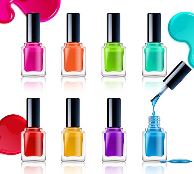 Assortiment de vernis à ongles