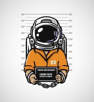 Astronaute criminel