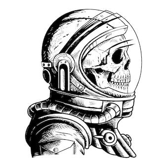 Astronaute du crâne