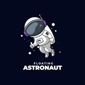 Astronaute flottant