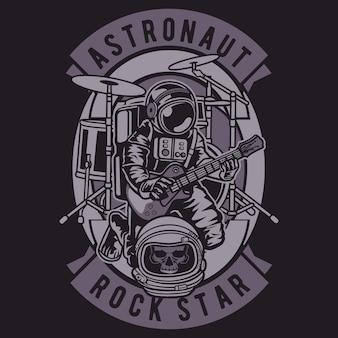 Astronaute rock star
