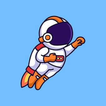 Astronaute volant